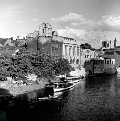 Guildhall, York, River Ouse